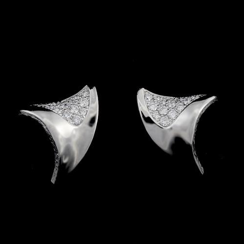 「カズハ」ダイヤモンド ピアス KAZUHA Diamond pierced earring  MYTHOS series