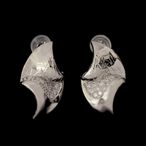 「ホウガ」ダイヤモンド ピアス HOUGA Diamond pierced earring  MYTHOS series